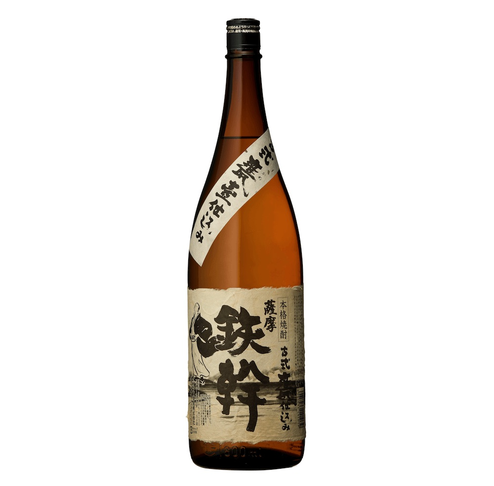 香り、柔らかさ、飲みごたえの充実感 オガタマ酒造 芋焼酎『鉄幹』 1800ml