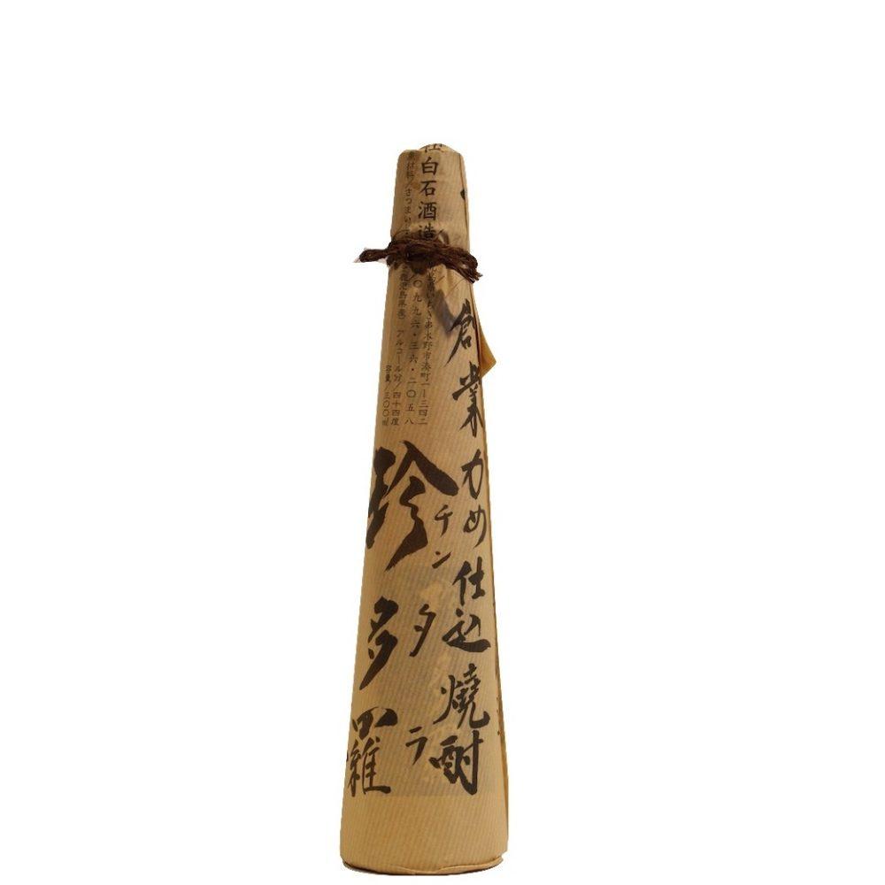 芋焼酎の香り高く華やかな風味の芋焼酎原酒 白石酒造『珍多羅44度 チンタラ』300ml