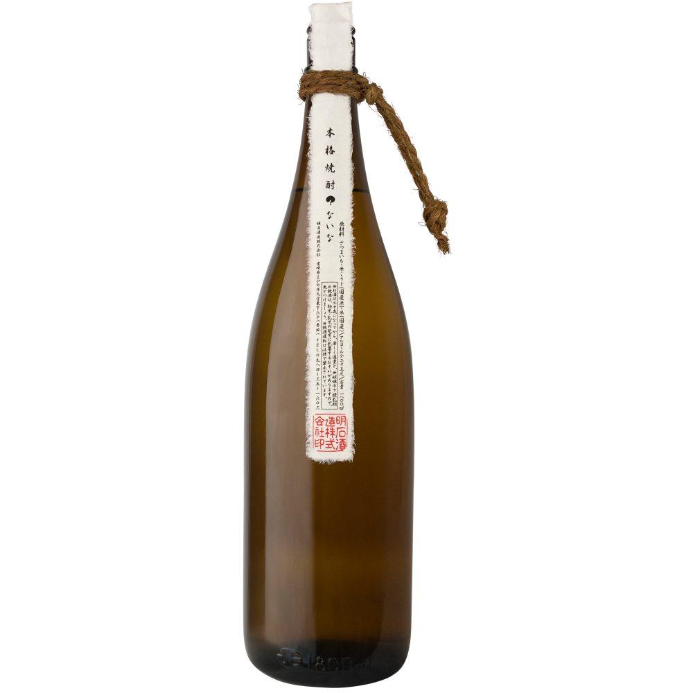 『ふわっ』と広がる程よい芋の風味と上品な甘みの芋焼酎 明石酒造『?ないな』1800 ml