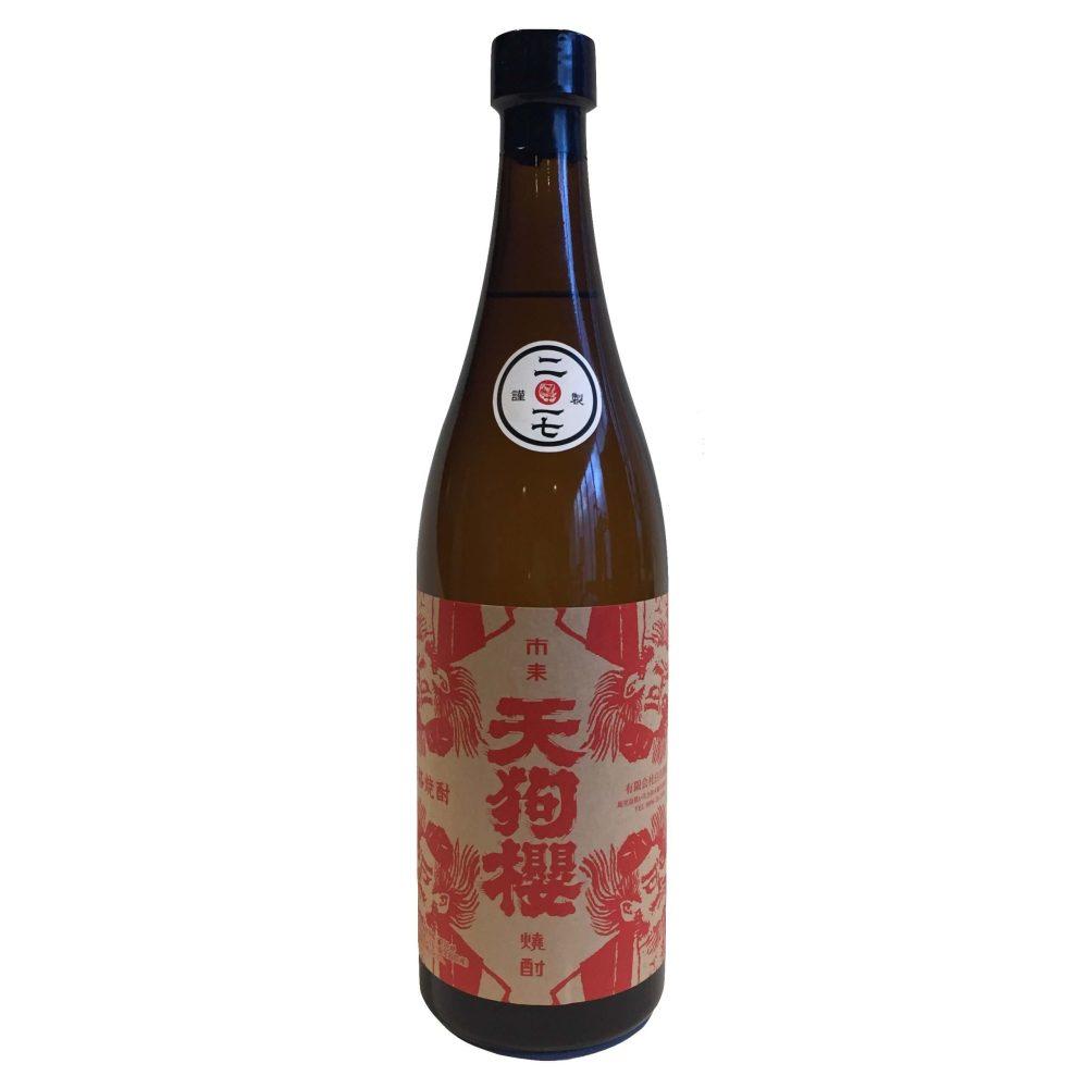 熟成由来のマンダリンのような香りの芋焼酎『開墾畑の天狗櫻 ・佐保井 25度』 720ml