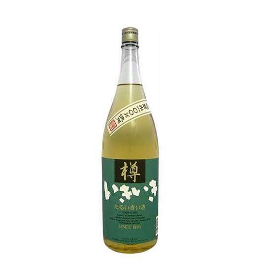 シェリー樽貯蔵によるまるでウィスキーのようなコクと甘みの米焼酎 豊永酒造『樽いきいき』 720ml