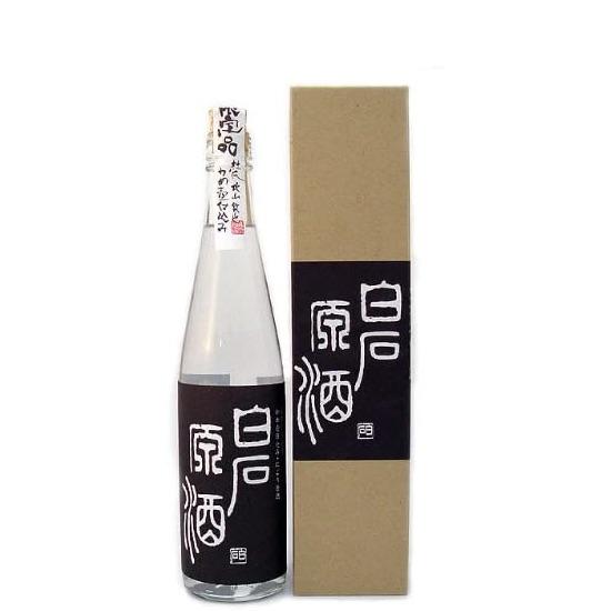 蔵のタンクからそのまますくって飲むのが一番美味しいのでは、との考えからできた芋焼酎 白石酒造『白石原酒37度』500ml