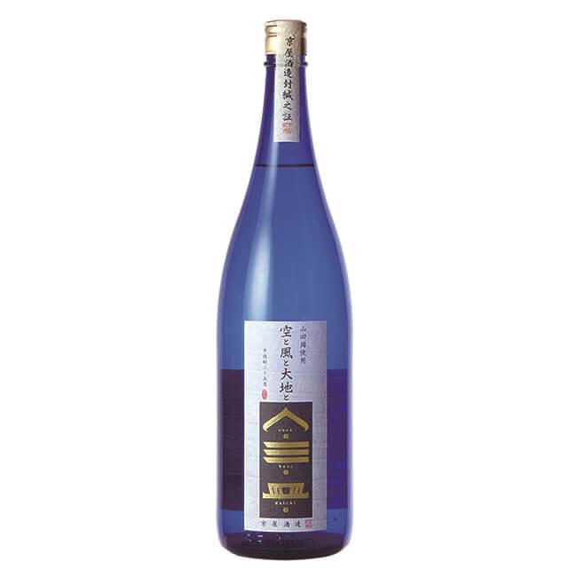 まろやかな旨みとほどよい口切れの良さがある芋焼酎 京屋酒造『空と風と大地と』