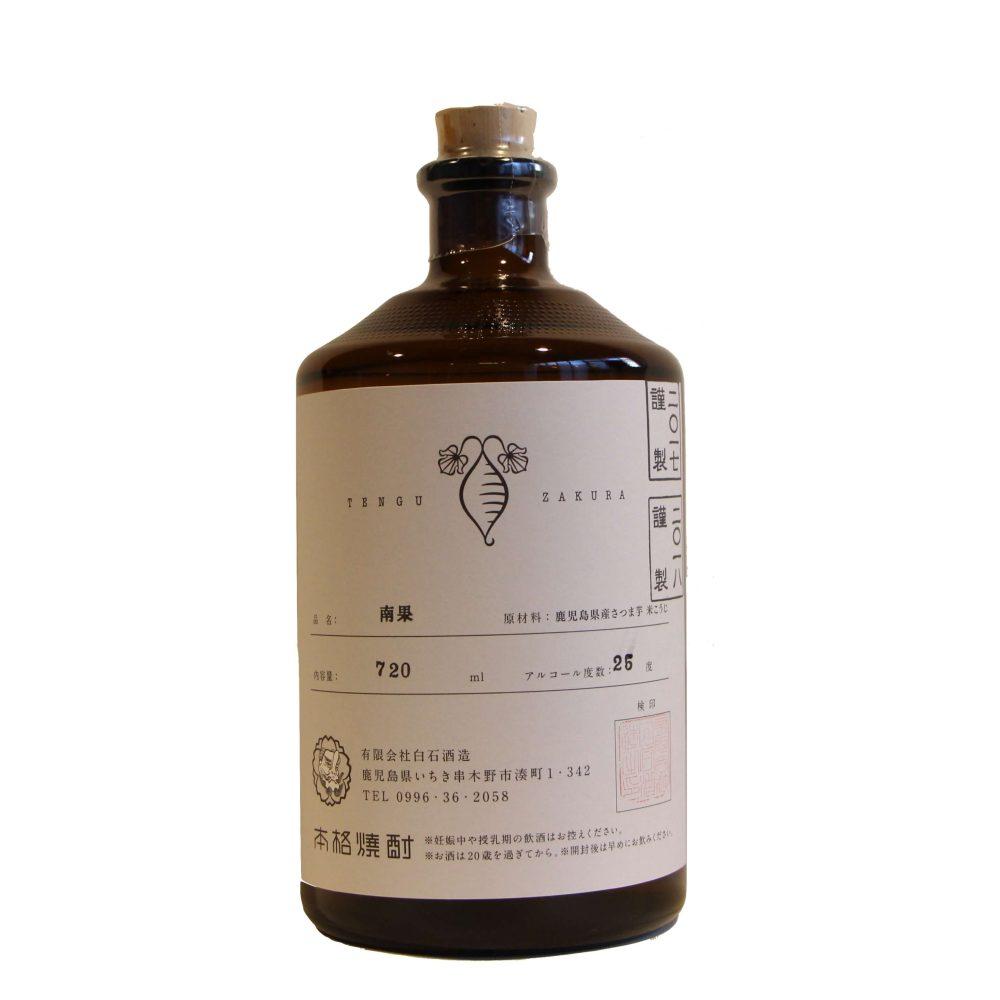 南国の果実の風味を目指した 700本限定生産 白石酒造 芋焼酎 『南果』720ml