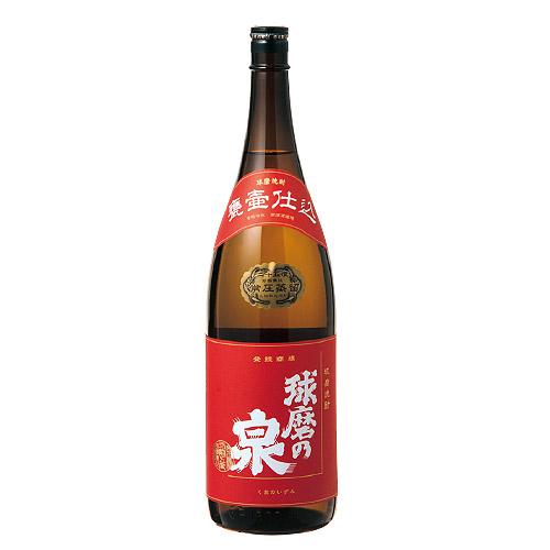 芳醇なコクを生み出す昔ながらの蒸留方式の米焼酎 那須酒造場『球磨の泉(常圧)』 1800ml