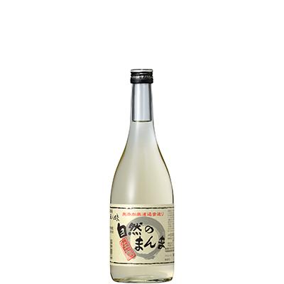 五人娘純米酒を搾ったそのまま瓶詰め『五人娘純米生原酒 自然のまんま』 720ml