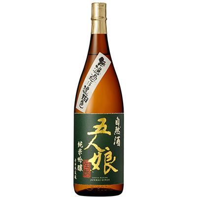 五人娘純米酒よりもう1割ほどお米を贅沢に磨いた『五人娘 純米吟醸酒』 1800ml